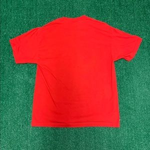Vintage Shirts - Vintage M&M Red Tee Size XL 90s